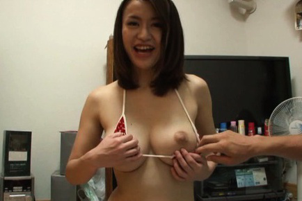 Kaede niiyama. Kaede Niiyama Asian has nipples of large tits exposed and licked