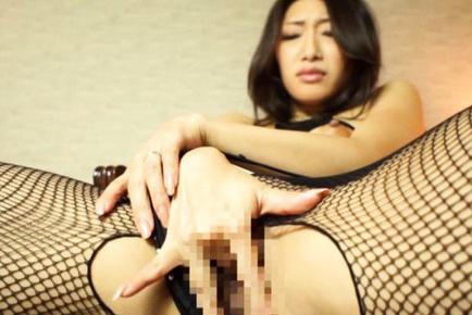 Reiko kobayakawa. Reiko Kobayakawa Asian with big tits rubs her