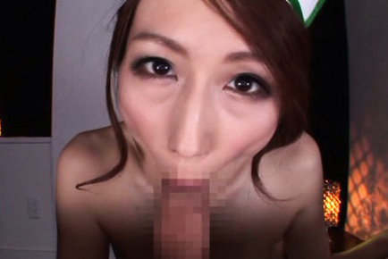 Julia. JULIA Asian doll with bonnet cock sucking dick and rubs