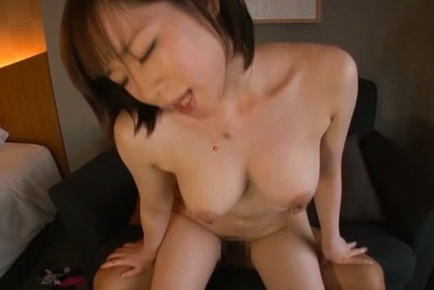 Michiru. Michiru Asian has big cans shaking while satisfying her beaver