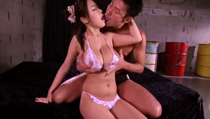 Riai sakuragi. Riai Sakuragi Asian has immense boobs played with and sucked