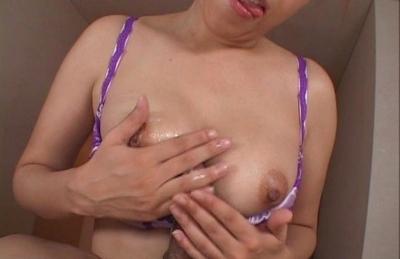 Jun Rukawa big tits get fucked by her lovers hard cock